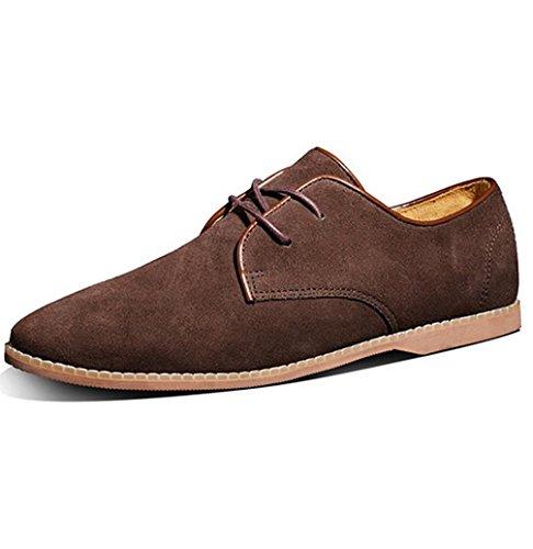 Baixo De amp; Cor Homens M Fosco Schnur Café Camurça Causais De Coração Baixos Sapatos Sapatos Que pfwxFFWq8