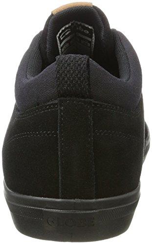 Globe GS Chukka, Chaussures de Skateboard Homme Multicolore (Black/Black)