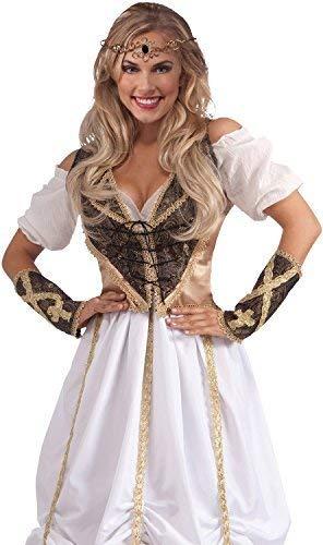 Fancy Me Damen Amazonas Göttin Tiara Mittelalterliche Prinzessin - Amazonas Prinzessin Kostüm