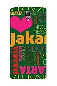ZAPCASE PRINTED BACK COVER FOR LENOVO A2010 - Multicolor