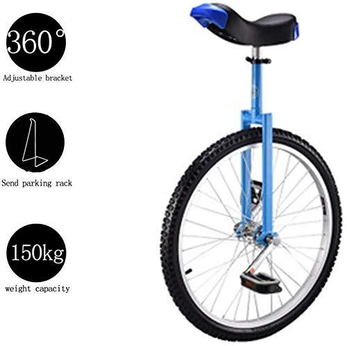 """BUDBYU Einrad, Einstellbare Bike Trainer 2,125\""""Rad rutschfeste Reifen Balance Verwenden Für Anfänger Kinder Erwachsene Übung Fitness Spaß 24"""