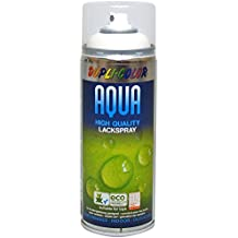 Dupli Color 252570 Acqua Vernice Spray, 350 ml, RAL 9010 Bianco Puro Opaco