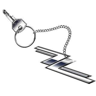 ZZ Top Twin Zees Logo Keyring Standard