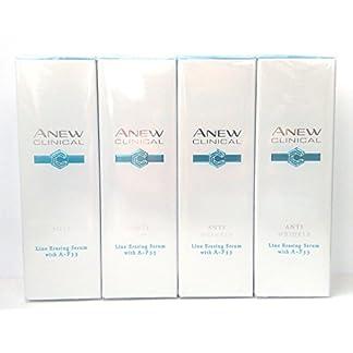 4 x AVON Anew Clinical Anti Wrinkle Sérum Difuminador De Lineas Con A-F33 30ml – 1.0oz Set