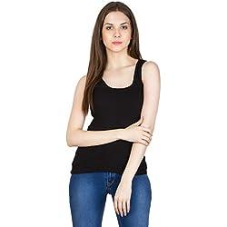 SMEXY Women Razor Back Camisole (SMEXY-Black-Razor Back-Camisole, Medium)