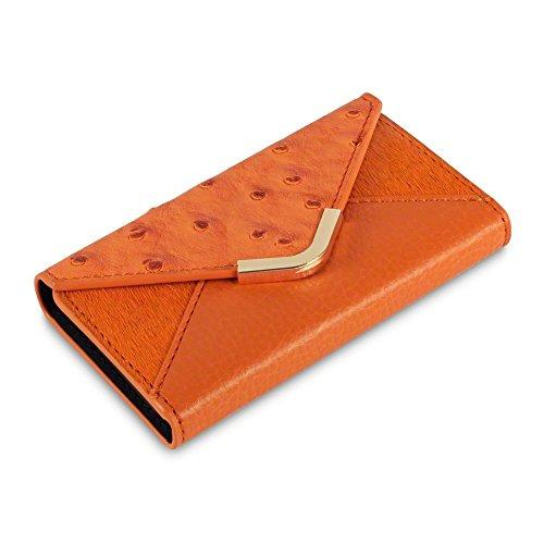 c-by-covert-suki-custodia-a-portafoglio-per-apple-iphone-4-4s-colore-arancione