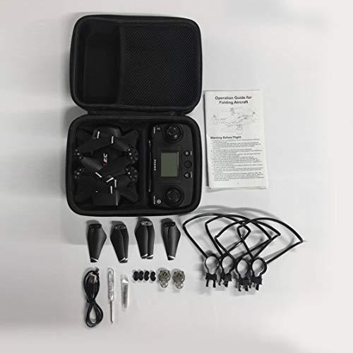 Kaemma S30 2.4G Drone RC avec caméra WiFi 720P Mini Quadrocopter Pliable 4CH Drone FPV à 6 Axes GPS intégré Retour clé (Couleur: Noir)