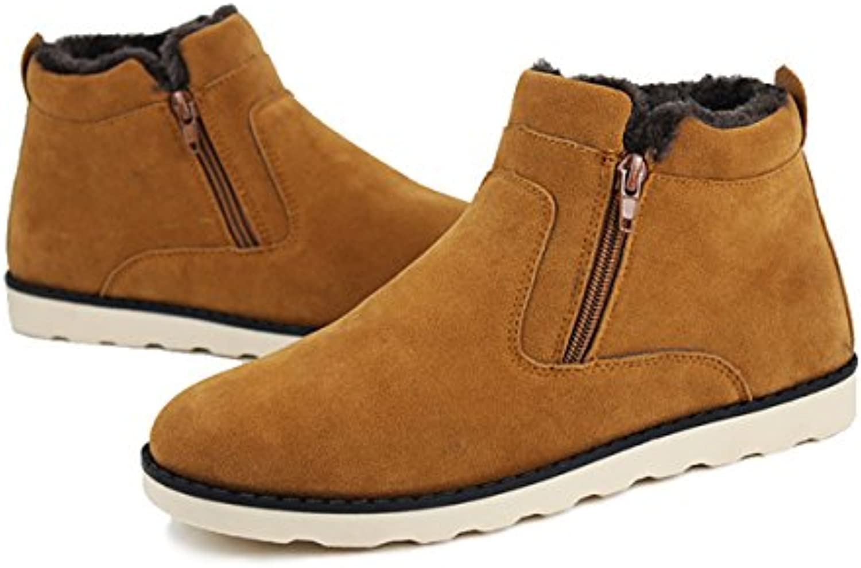 Winterstiefel  Gracosy Unisex Schneestiefel Warm Gefütterte Schuhe Winter Sneakers Bootsschuhe Kurzschaft StiefelWinterstiefel Gracosy Schneestiefel Bootsschuhe Hersteller Größentabelle