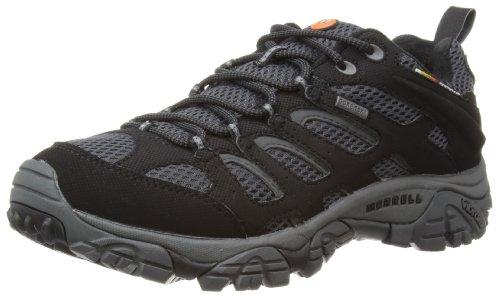 merrell-moab-gore-tex-mens-lace-up-trekking-and-hiking-shoes-black-granite-10-uk