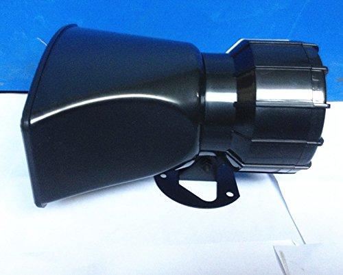 ETGtek 1pcs 100W DC12V 4 Sounds Lautsprecher Auto oder Motorrad Warnung Sirene Alarm Police Ambulance Lautsprecher mit Wireless Remote Control -