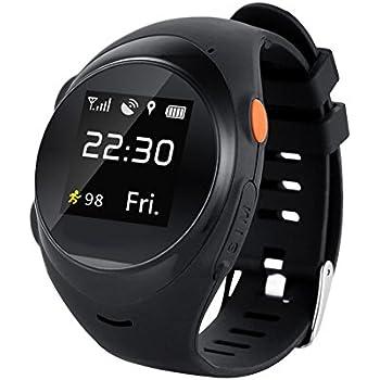 Reloj inteligente Chengstore X83 de ZGPAX, con Bluetooth, para niños mayores, SIM, llamada de emergencia, GPS, rastreador inteligente antipérdida, ...