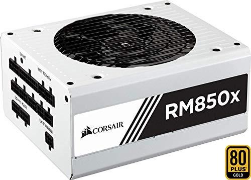 Corsair RM850x Bianco Alimentatore PC, Completamente Modulare, 80 Plus Gold, 1000 W, EU