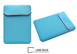 MOCA Neoprene Ultrathin-Snug Fit Sleeve Carry Case Bag for 13-13.3inch Apple Macbook (Aqua Blue)