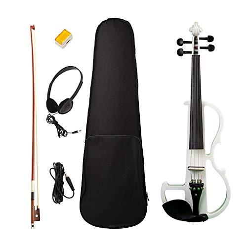 SM SunniMix Professionelle exquisite 4/4 Violine mit Harten Fall, Schulterstütze, Bogen, Kolophonium - Weiß