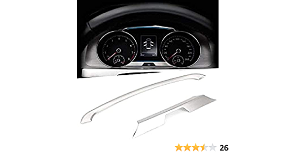 Ffz Parts 5126 Edelstahl Tacho Rahmen Blende Passend Für Golf 7 Mk7 Gti Gtd Gte Tdi Tsi Rline R Club Sport Auto