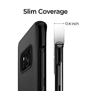 Spigen Thin Fit Case for Samsung Galaxy S8+ / Galaxy S8 Plus - Black 571CS21676