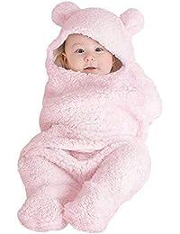 Manta del abrigo del saco de dormir del bebé universal, lindo recién nacido bebé niño