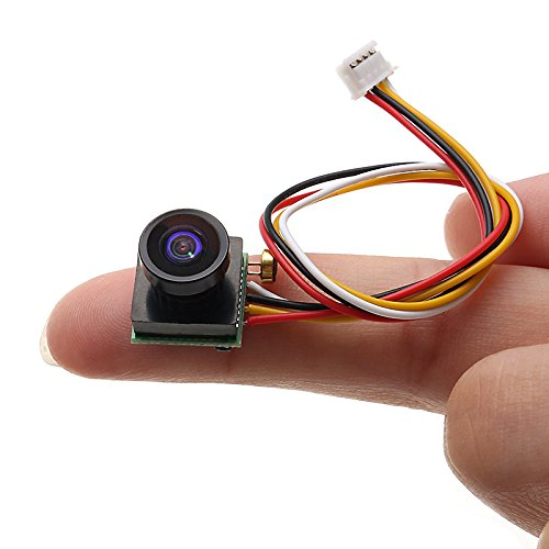 LaDicha 1/4 cmos 600Tvl 1.8mm FOV 170 Degree Wide Angle Mini FPV Camera Pal/Ntsc 5V-12V Step-Down Regulator -Pal