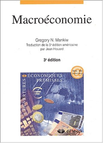 Macroconomie. : 3me dition