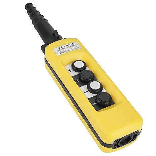 Hebekran Kranhub XAC-A471 Hoist Drucktastenschalter mit 4 Tasten Hoist Crane Pendant Control Station Taste Control Station