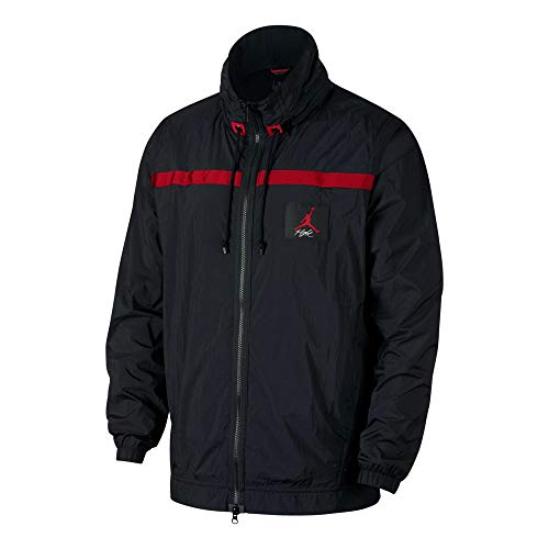 Nike Wings Of Flight Windbreaker - black/gym red, Größe:XL (Jacke Winter Red Wings)
