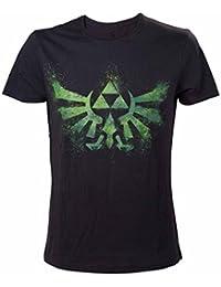 Meroncourt Green Zelda Logo, Camiseta para Hombre