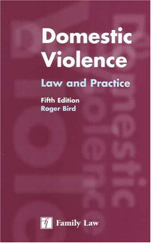 Domestic Violence Law and Practice