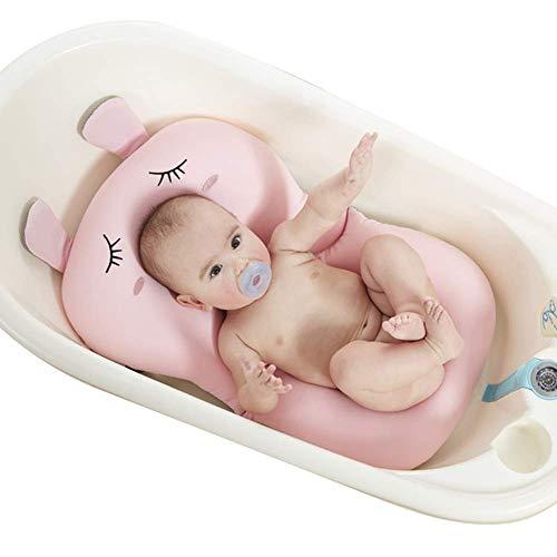 UNAOIWN Coussin de bain pour bébé, matelas de bain flottant, siège de coussin anti-dérapant pour...