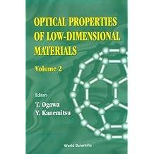 Optical Properties of Low-Dimensional Materials
