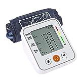 Misuratore della Pressione Sanguigna, Monitor della Pressione Arteriosa sul Braccio Superiore per Uso Domestico con Ampio Display LCD E Bracciale BP,White
