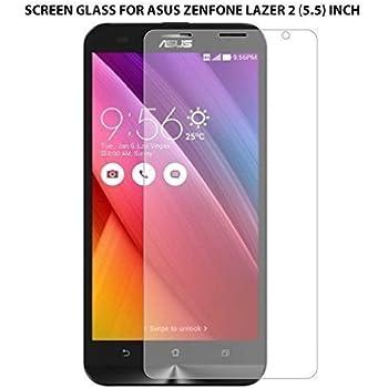 "Plus Premium Tempered Glass , 9H Hardness, 2.5D Curved Edge, Ultra Clear Anti-Fingerprints For Asus Zenfone 2 Laser 5.5"" Ze550Kl"