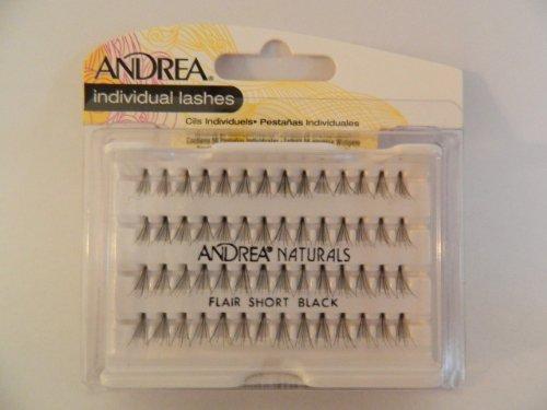 AndreaFaux-cils individuels en poils naturels Noir