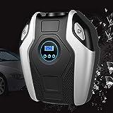 Oyamihin Digitalanzeige Auto Fahrrad Aufblasbare Luftkompressor Tragbare 12 V / 220 V Automobile Fahrrad Reifenfüller Mini Elektrische Pumpe