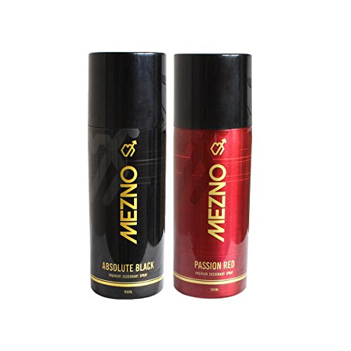 Mezno Body Spray Best Deodorant For Men - Deo Combo of 2 - 150ml each  available at amazon for Rs.304