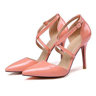 SANMULYH Donne'S Scarpe Pu Primavera Estate Comfort Novità Tacchi Stiletto Heel Punta Per La Festa Di Nozze &Amp; Sera Nudo Giallo Rosa Bianco Nero Rosa