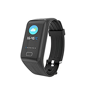 Chengstore Fitness Tracker, X1PLUS Blood Pressure Heart Rate Monitor Tracker Smart Bracelet Activity Tracker Sleep Monitor Health Monitoring Colorized Screen Smartwatch for Adults Kids