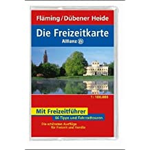 Die Freizeitkarte Allianz, Bl.60, Fläming, Dübener Heide