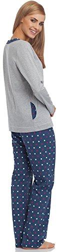 Cornette Damen Schlafanzug 679 2016 Melange