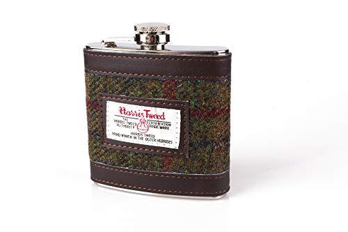 Harris Tweed 170,1gram Flasque-Country Check Thermos en acier inoxydable...