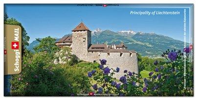 Preisvergleich Produktbild Grusskarte & Schweizer Premium Schokolade, Postkarte - Vaduz Blumen