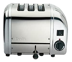 Dualit 3 Slice Combi Toaster Polished Stainless Steel 31213