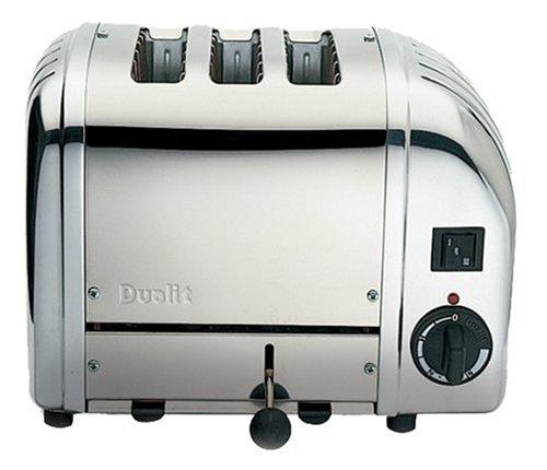 Dualit Combi 2 + 1 Scheiben-Toaster 31213 Edelstahl poliert **U.K.IMPORT**