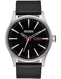 Nixon Reloj Analógico de Cuarzo para Hombre con Correa de Piel ... 1ff83a4b215
