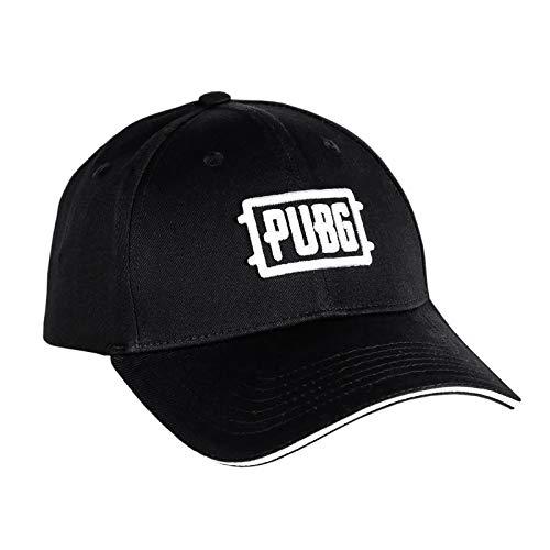 JINX PUBG Basecap Game Logo Algodón Negro