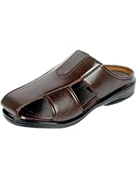 Luckyman Men's Brown Sandals