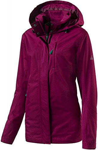 McKINLEY Damen Diamond Jacke PINK DARK