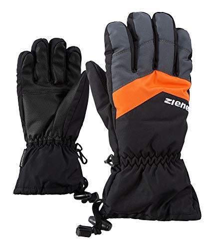 Ziener Kinder Lett AS(R) Glove junior Ski-Handschuhe Black/Graphite 7