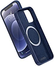 UGREEN Liquid Silicone Magnetic Phone Case Compatible with iPhone 12/12 Pro/12 Pro Max (Navy)