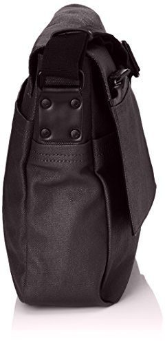 Calvin Klein Everyday Messenger With Flap 2, Sac messenger Noir (990 Black)