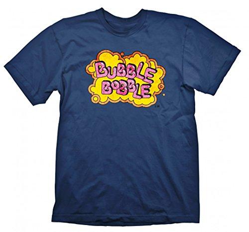 Bubble Bobble Vintage Logo - T-Shirt Retro | Arcarde | Oldschool, Größe:M (T-shirt Bubble Logo)